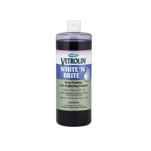 Farnam Vetrolin White N Brite Shampoo 946ml