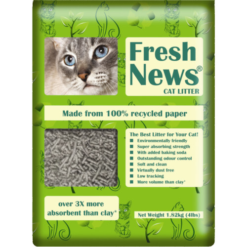 Fresh News Cat Litter (Previously Yesterdays News) 1.82kg