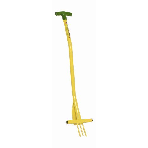 Eazitools Rag-Fork T Handle Yellow