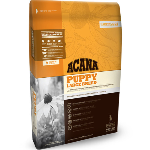 Acana Heritage Large Breed Puppy Food 11.4kg