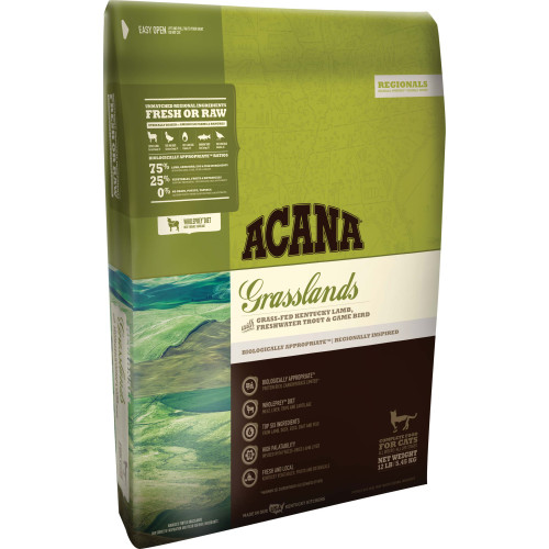 Acana Grasslands Cat & Kitten Food 1.8kg