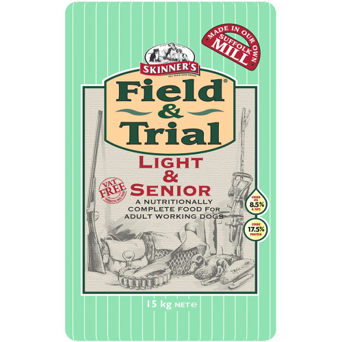 Skinners Field & Trial Light & Senior Dog Food 15kg