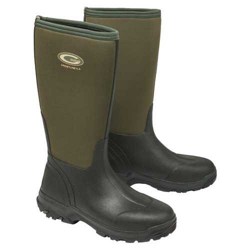 Grubs Frostline Boots Size 8 Moss Green
