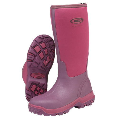 Grubs Frostline Boots Size 7 Fuchsia