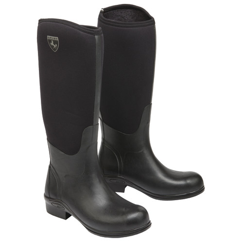 Grubs Rideline Riding Boots Size 6 Black