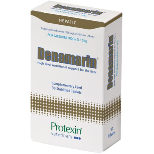 Protexin Denamarin Liver Supplement 225mg x 30 - Medium Dog
