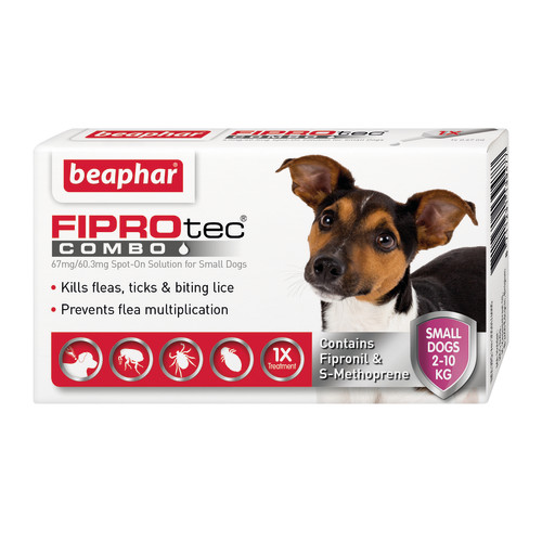 Beaphar FIPROtec Combo Spot On For Dogs Small Dog 1 Pipette