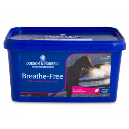 Dodson & Horrell Breathe Free Horse Supplement 1kg