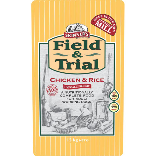 Skinners Field & Trial Chicken & Rice Adult Dog Food 15kg