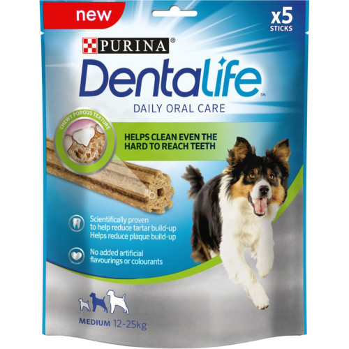 Purina Dentalife Medium Adult Dog Chew 5 Stick