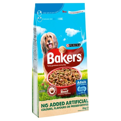 Bakers Complete Beef & Vegetable Adult Dog Food 5kg
