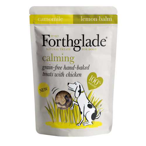 Forthglade Baked Biscuit Treats for Dogs Calming - 150g