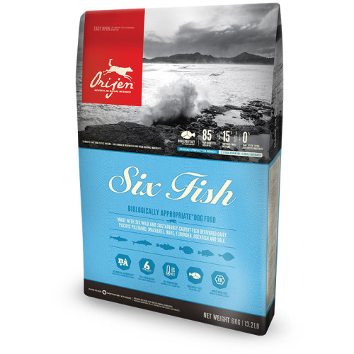 Orijen Six Fish Adult Dog Food 6kg