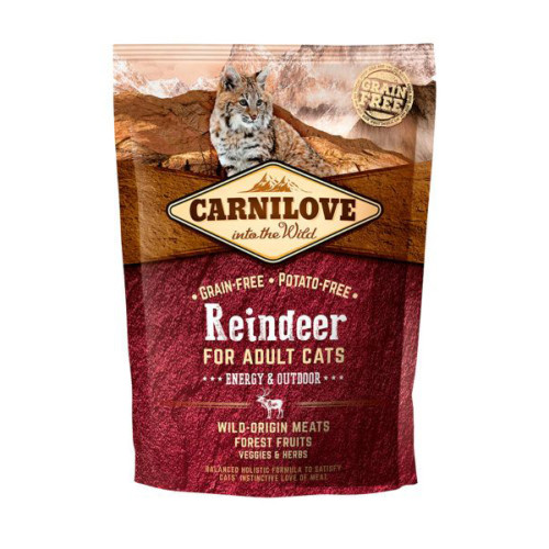 Carnilove Energy & Outdoor Reindeer Adult Cat Food 400g