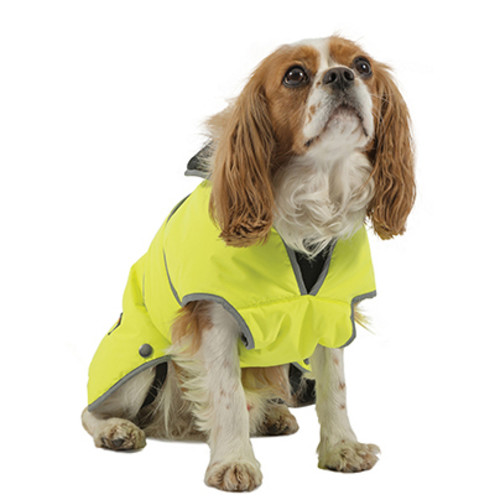 Ancol Muddy Paws Hi-Vis Stormguard Dog Coat Large