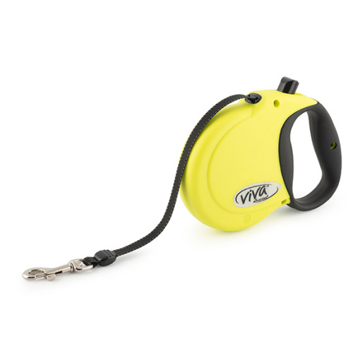 Ancol Viva 5m Hi-Vis Retractable Dog Lead Medium
