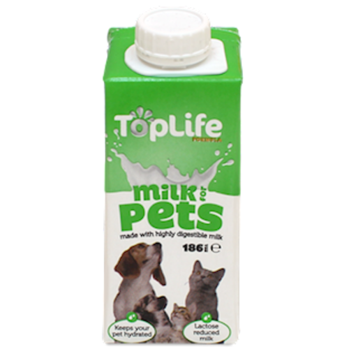 Toplife Generic Pet Milk for Cats & Dogs 186ml