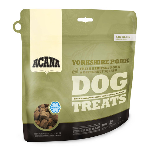 Acana Freeze Dried Yorkshire Pork Adult Dog Treats 35g