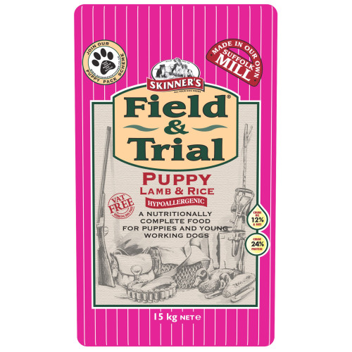 Skinners Field & Trial Lamb Puppy Food 15kg