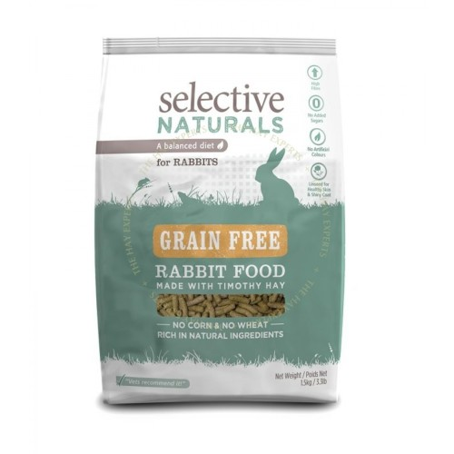Supreme Science Selective Naturals G/F Rabbit Food 1.5kg