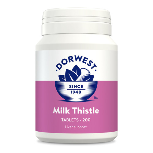 Dorwest Milk Thistle Tablets 200 Tablets