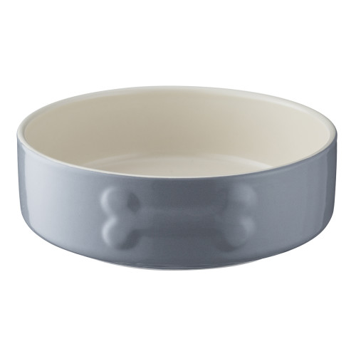 Mason Cash Colour Mix Grey Dog Bowl 15cm