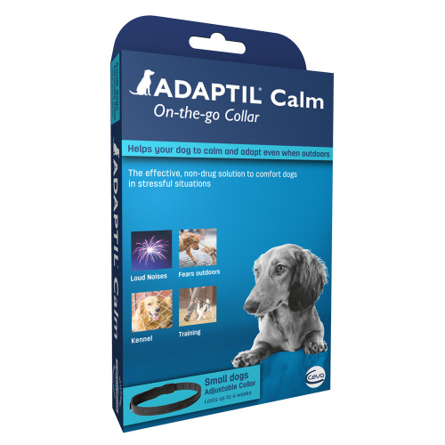 Adaptil Calming on the Go Dog Collar Small - 37.5cm