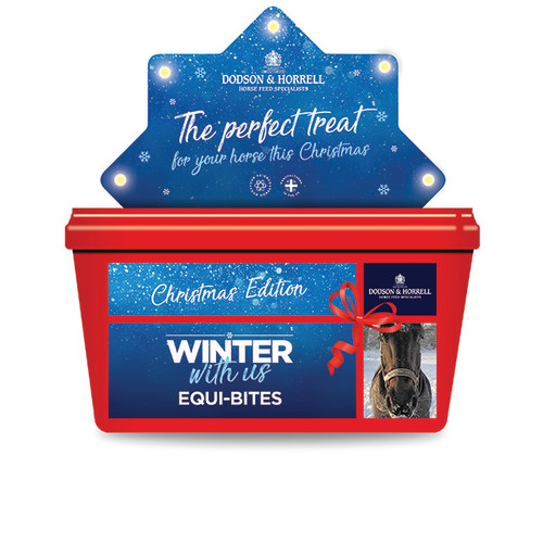Dodson & Horrell Christmas Equi-Bites Horse Treats 1.5kg