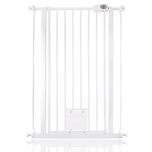 Bettacare Pet Gate with Cat Flap 75cm - 84cm