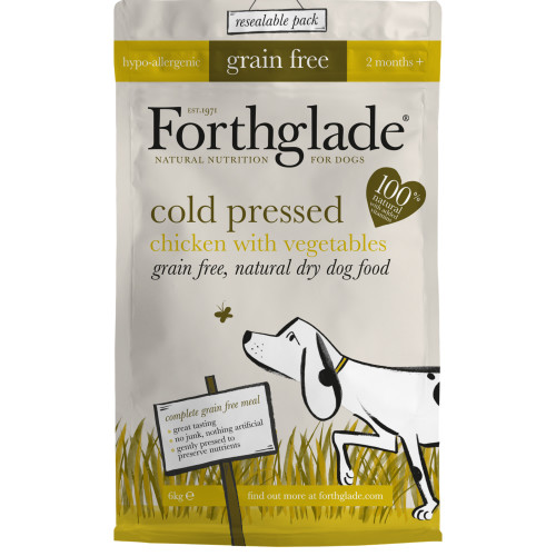 Forthglade Cold Pressed & Grain Free Chicken Dog Food 6kg