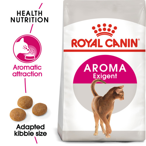 Royal Canin Aroma Exigent Dry Adult Cat Food 400g