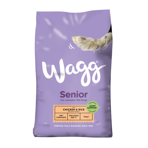 Wagg Complete Senior Dog Food 15kg x 2