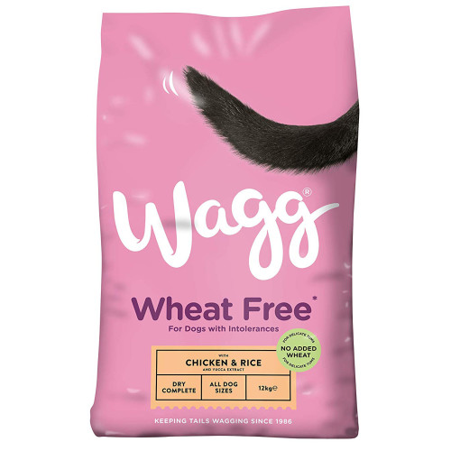 Wagg Complete Sensitive Wheat Free Chicken & Rice Dog Food 12kg