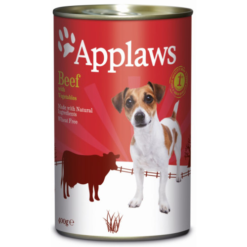 Applaws Beef with Vegetables Wet Dog Food 400g x 24