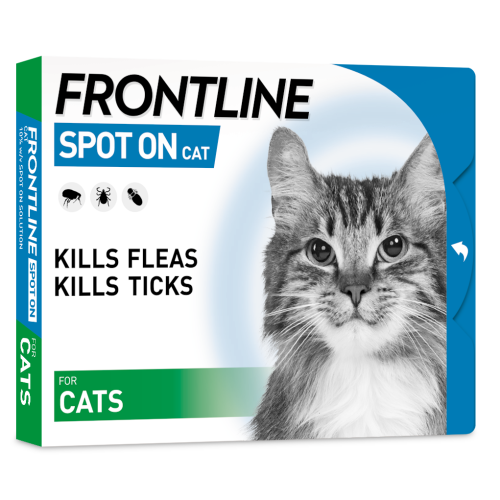 FRONTLINE Flea & Tick Treatment Cat 3 Pack
