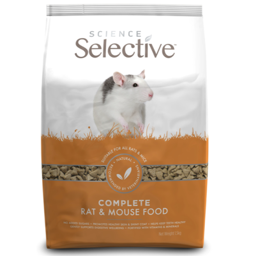 Supreme Science Selective Rat & Mouse Food 1.5kg