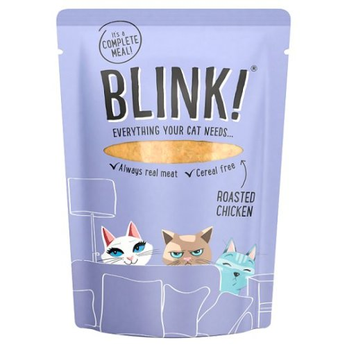 Blink Roasted Chicken Wet Cat Food 85g x 12