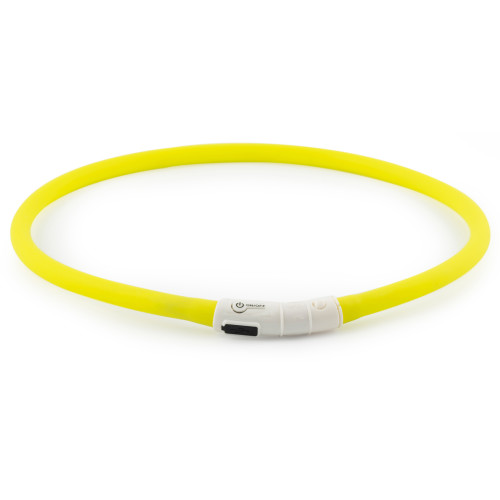 Ancol USB Rechargeable Dog Bands Yellow