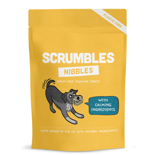 Scrumbles Nibbles Calming Training Treats for Dogs 100g