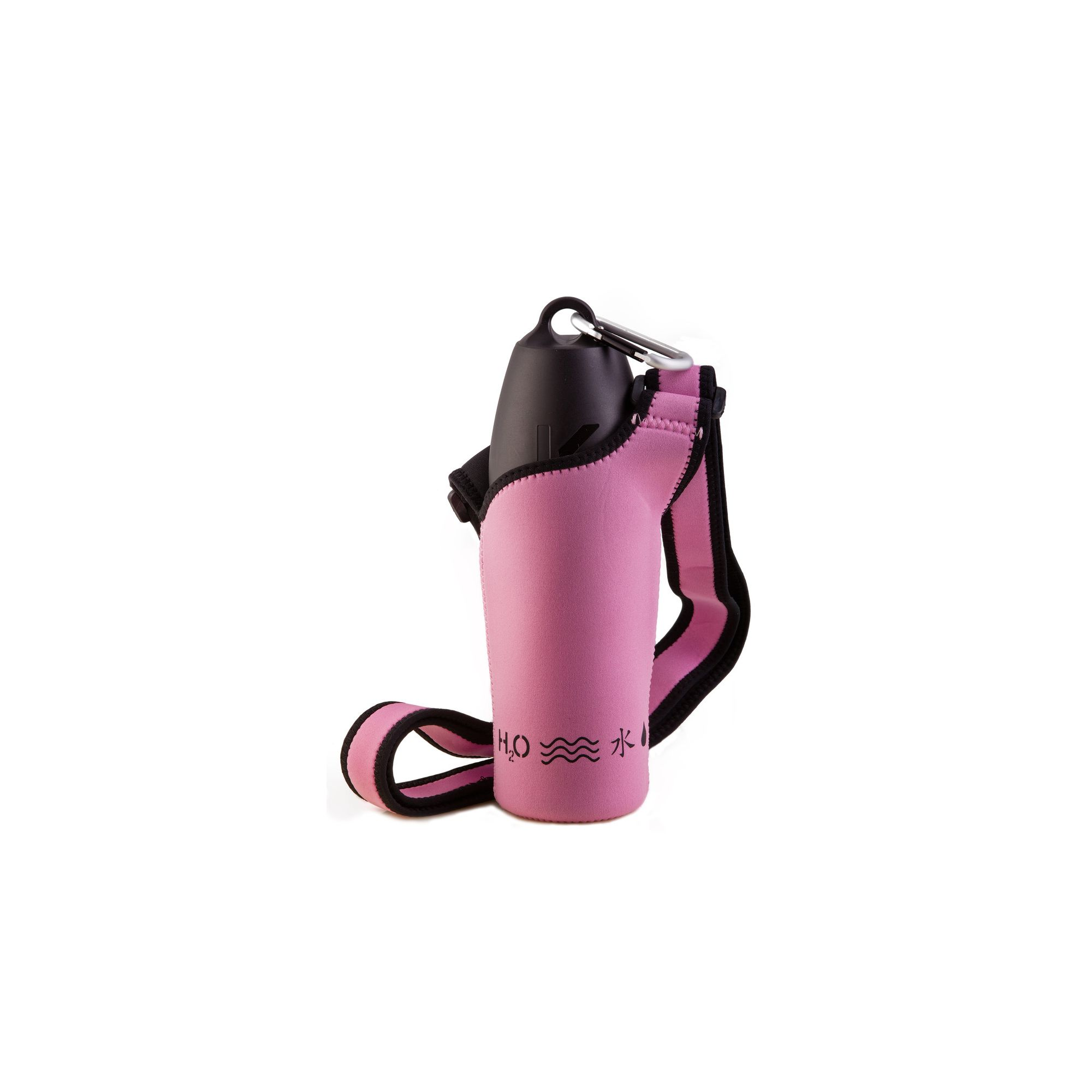 PJ Pet Products Neosling Adjustable Bottle Holder in Baby Pink