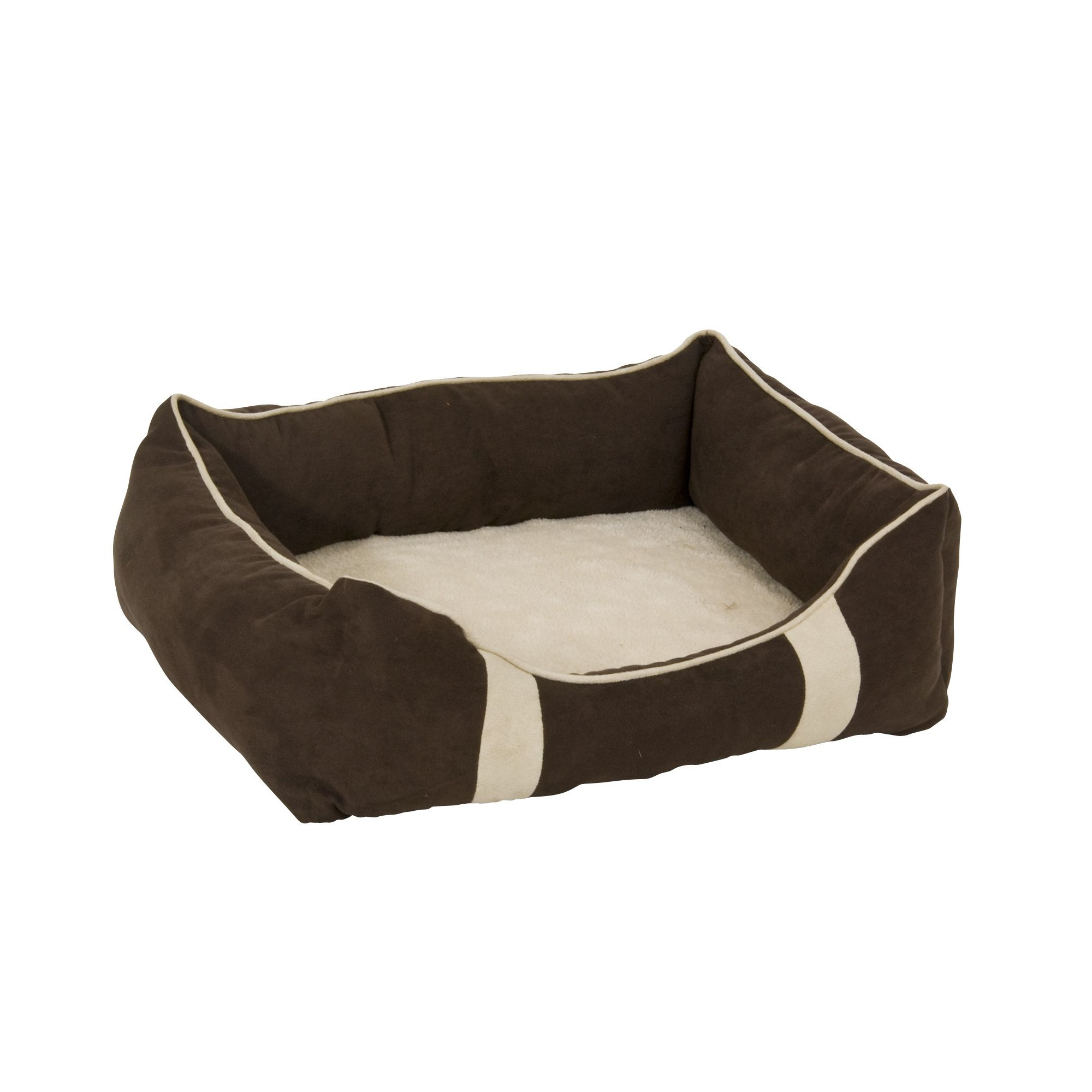 Petmate Foam and Fiber Lounger Dog Bed in Assorted