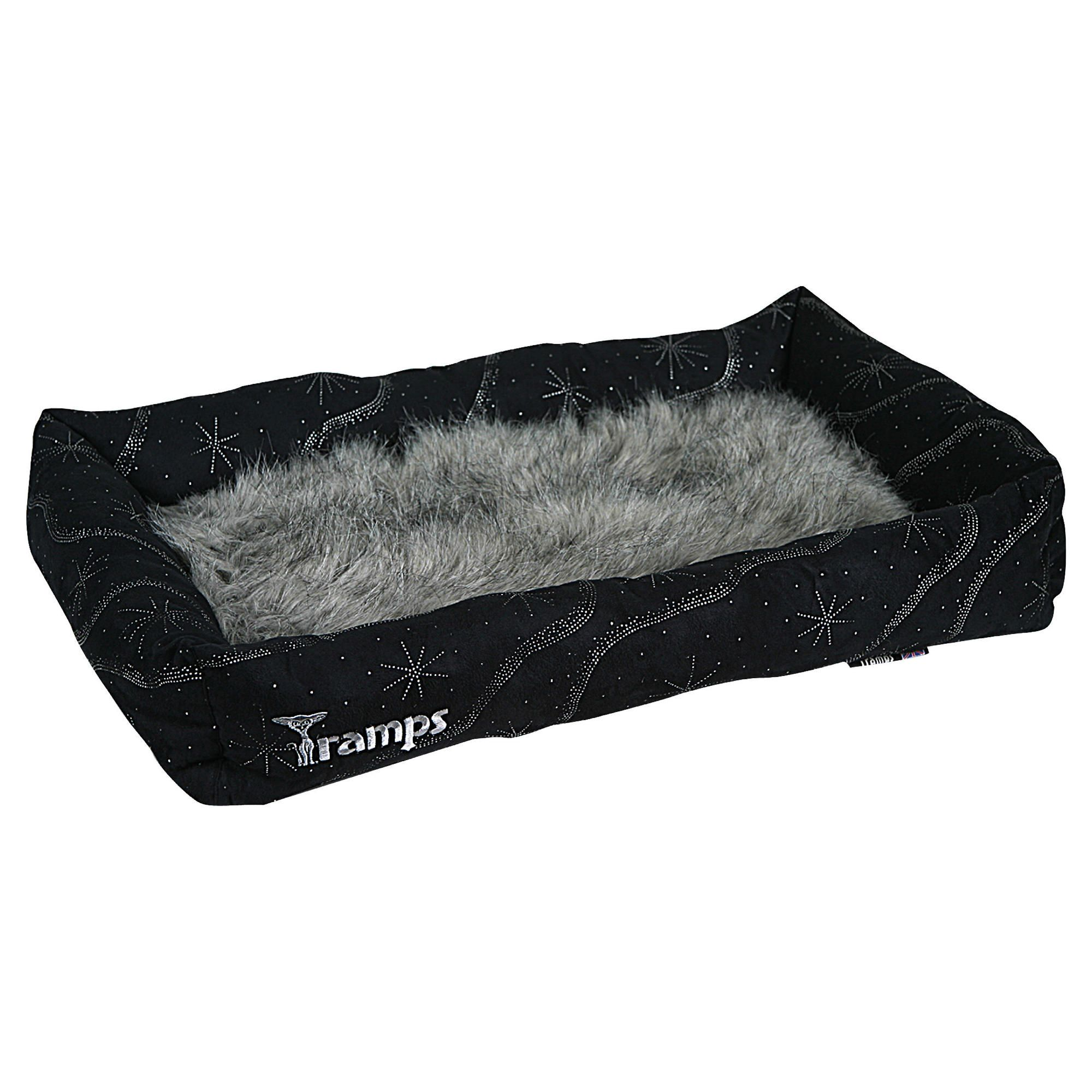 Tramps Twilight lounger, black