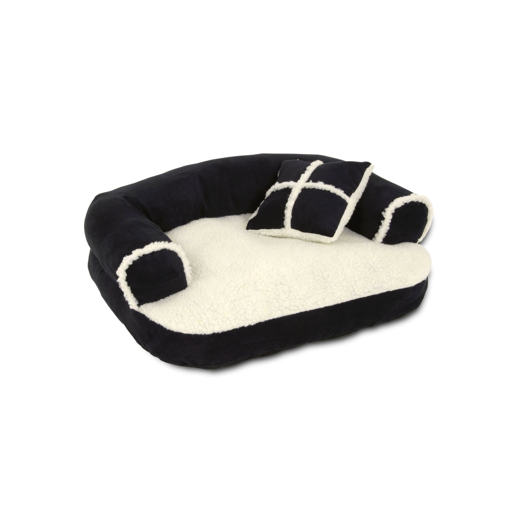 Petmate Dog Sofa Bed with Bonus Pillow