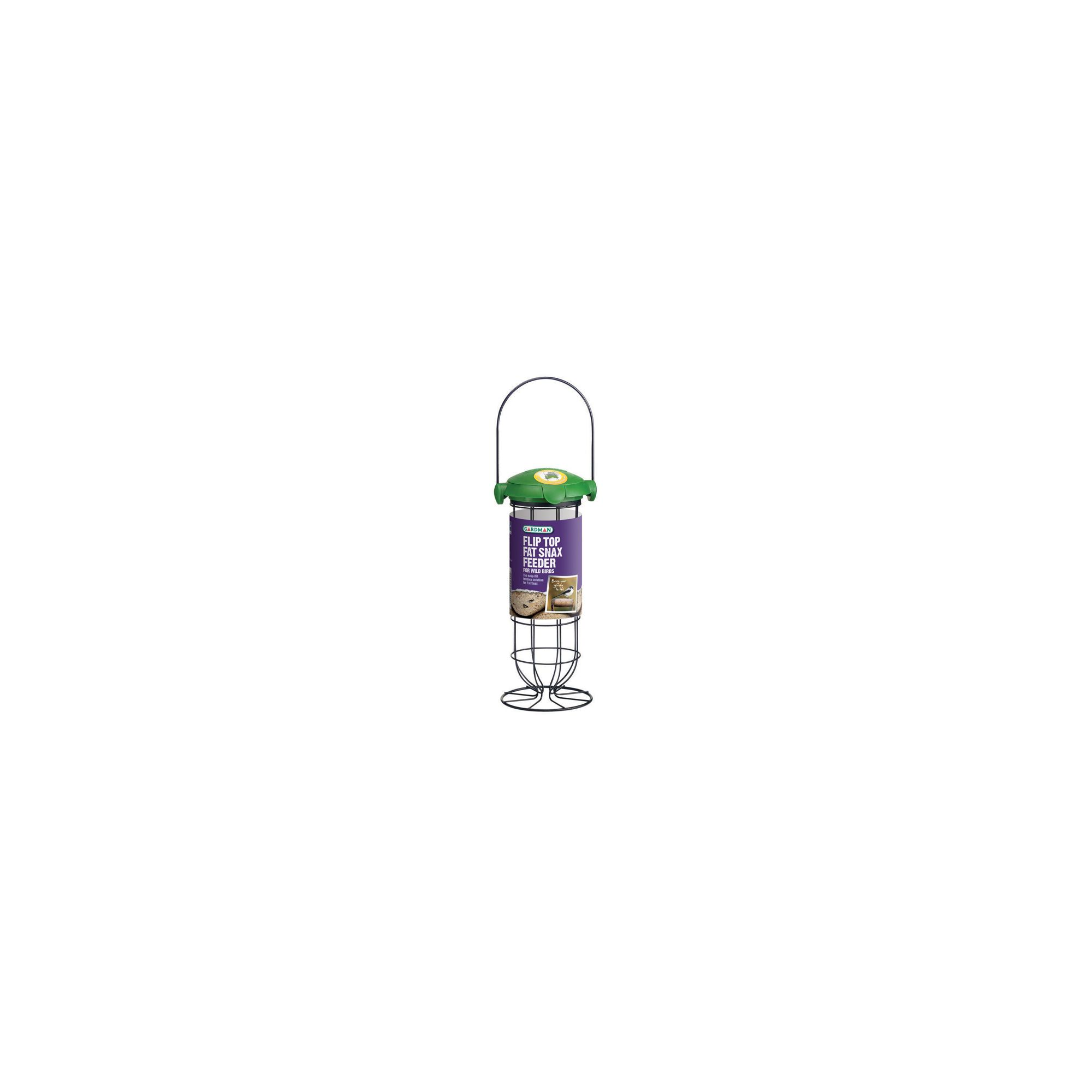 Gardman A04242 Flip Top Fat Snax Feeder
