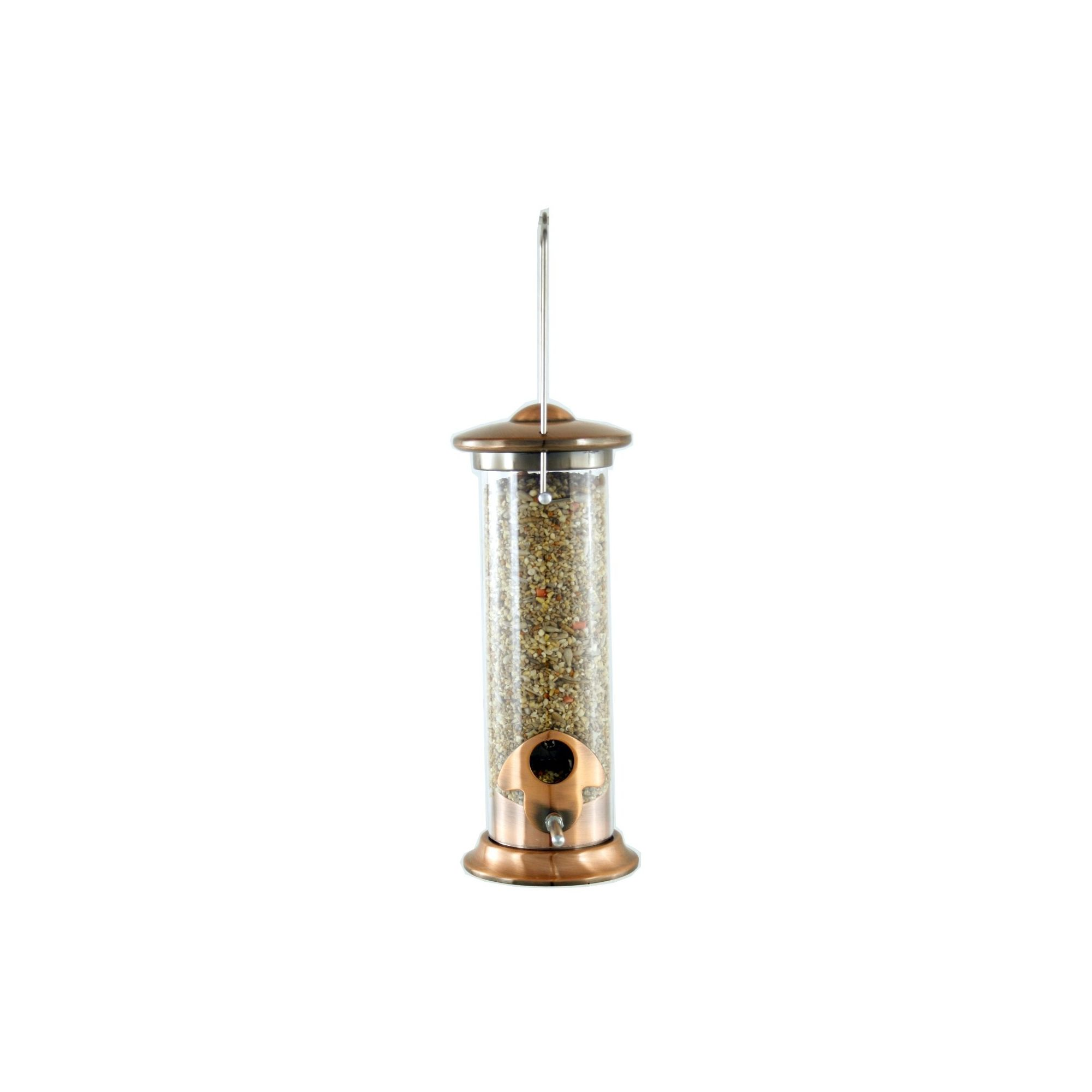 Harrisons Cast Copper Plated Seed Bird Feeder