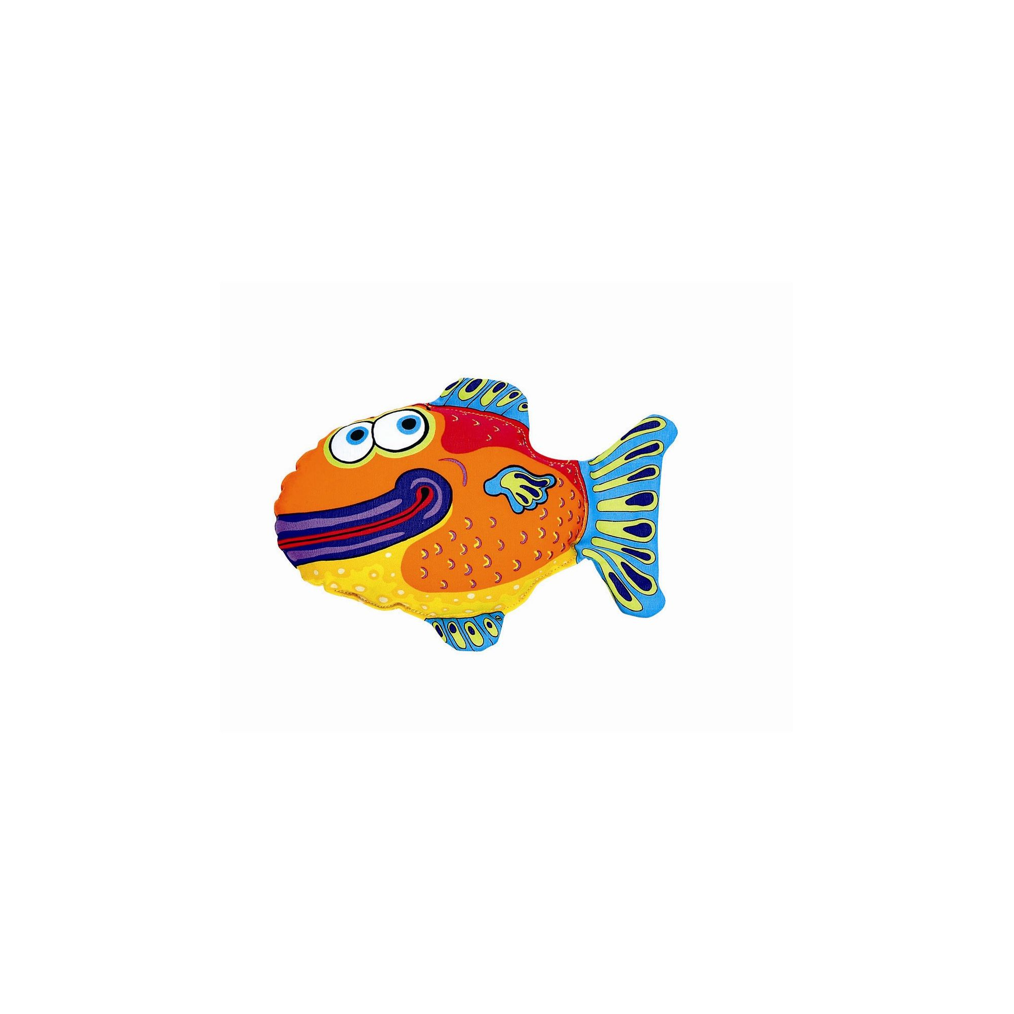 FatCat Yada Yadas Fish Dog Toy