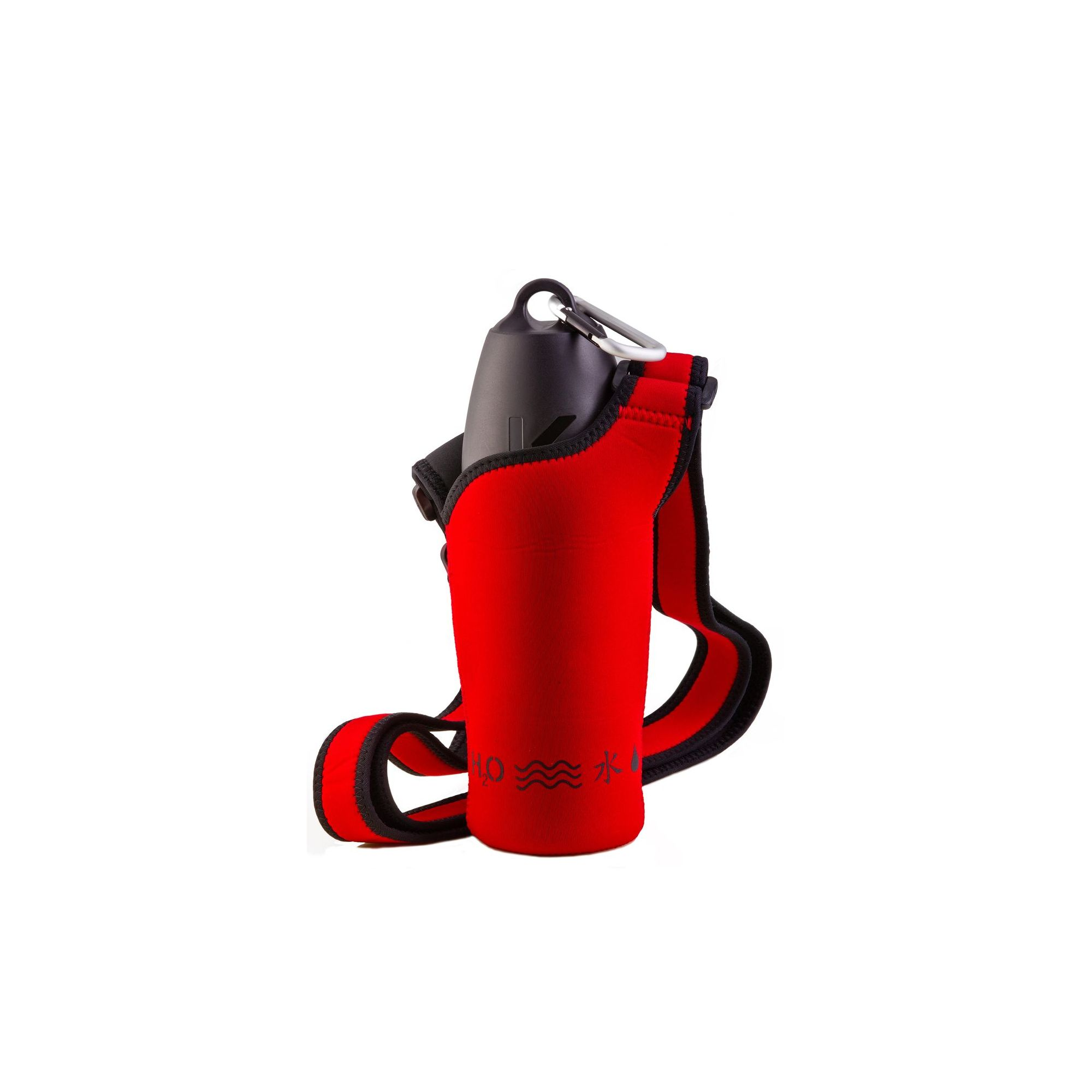 PJ Pet Products Neosling Adjustable Bottle Holder in Racecar Red