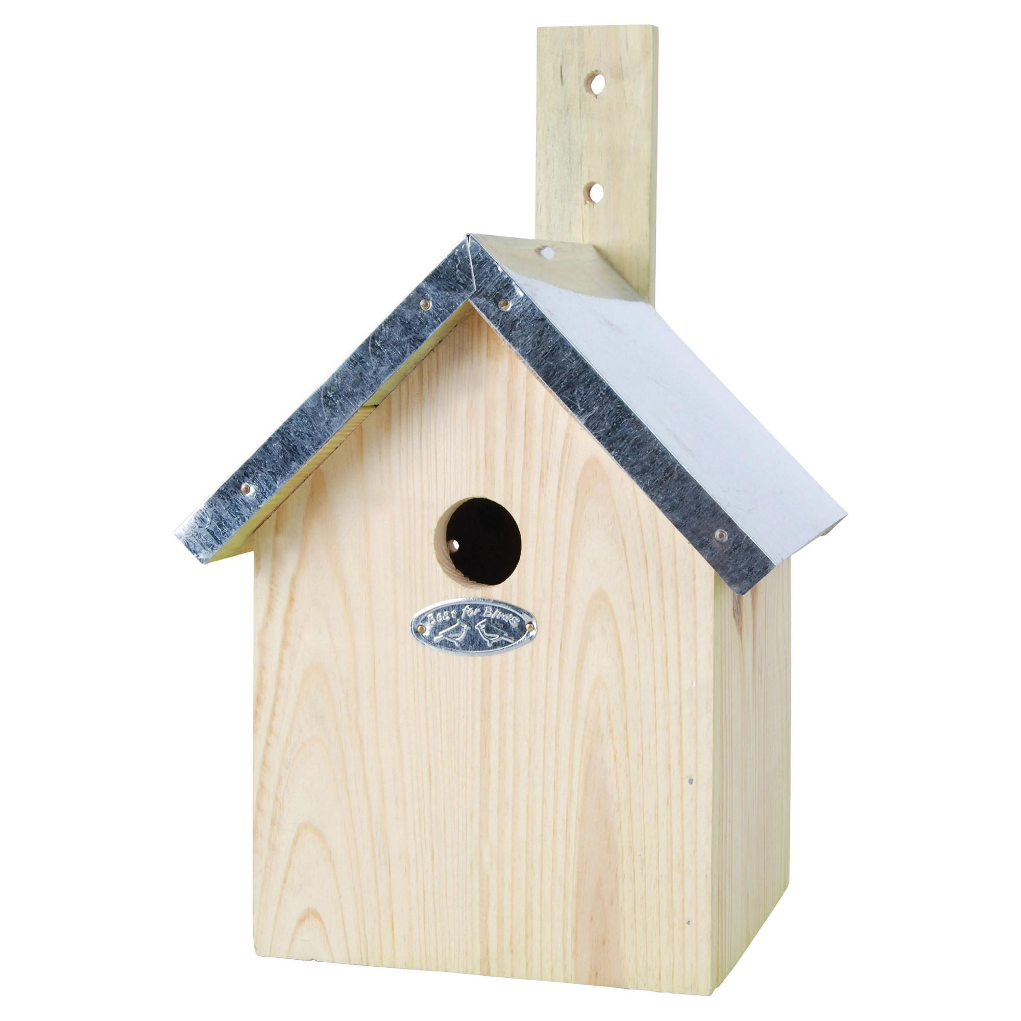 Fallen Fruits Blue Tit Nest Box 100% FSC Wood