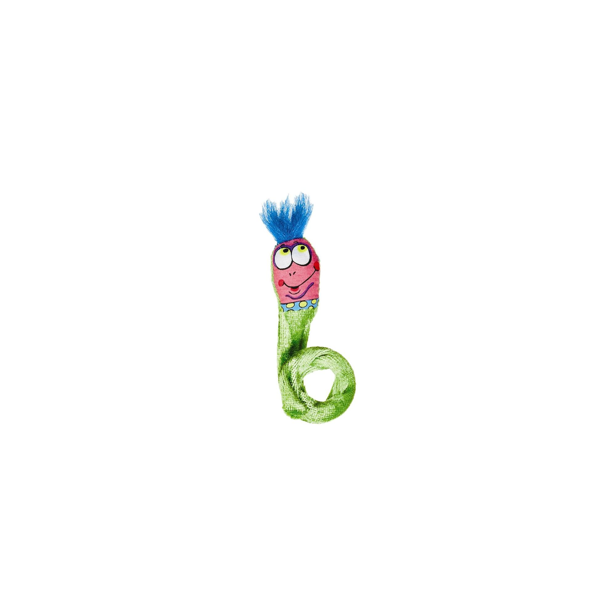 FatCat Classic Springy Worms Cat Toy in Green - 2 Pack