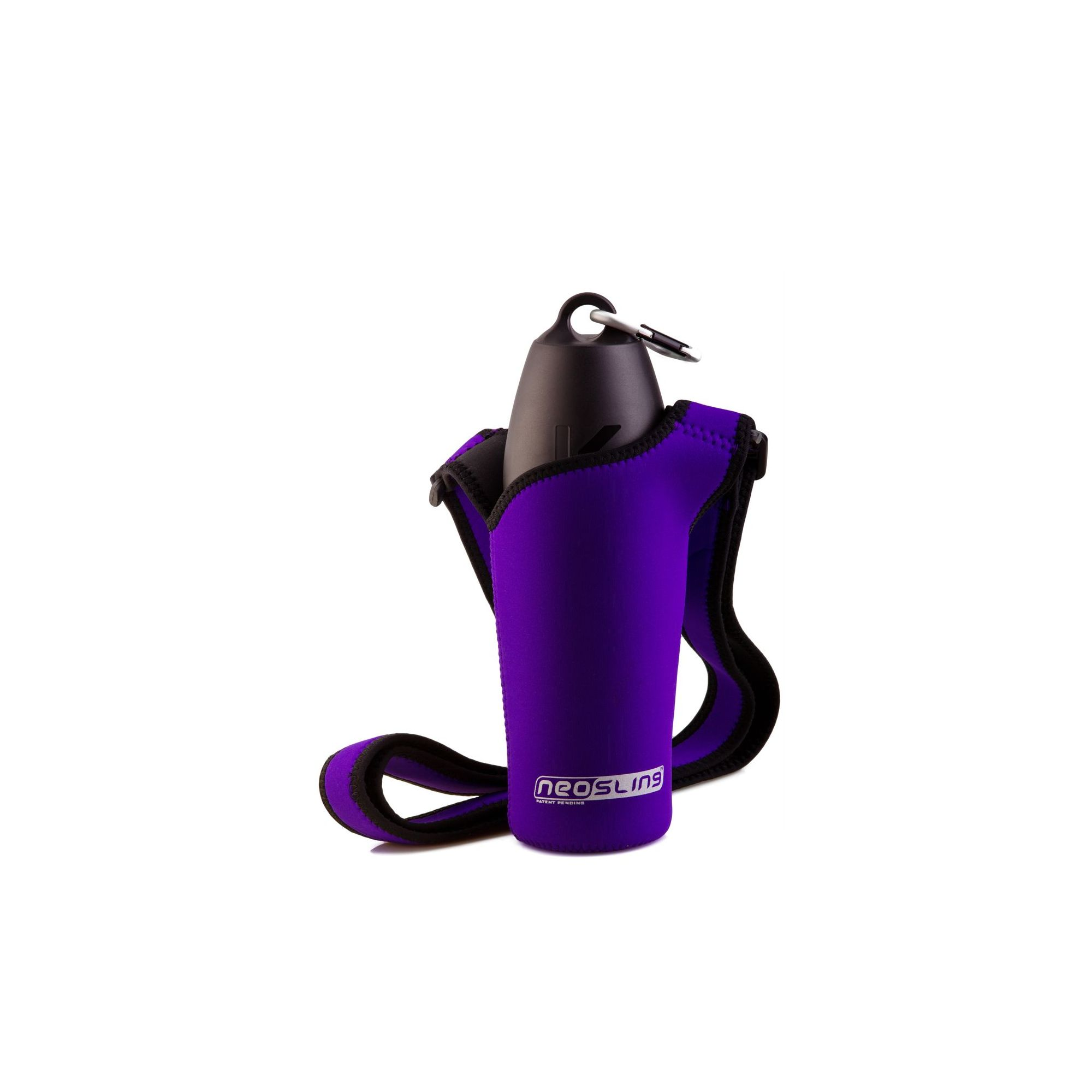 PJ Pet Products Neosling Adjustable Bottle Holder in Violet